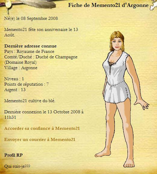 Premiers cas d'Argonne - Page 3 Memento
